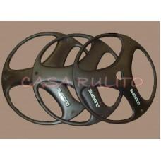 tapa de rueda r.24 shimano negra x 4