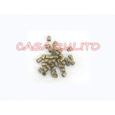 terminales de freno acero-bronceado  c/u <
