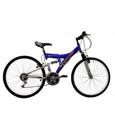 bicicleta t.t. r.26 doble susp. 18/v    *<