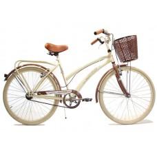 Bicicleta vintage r.26 c/porta canasto-des  *<