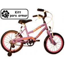 bicikitt playera r.14 dama   c/f y est  *<