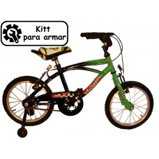 bicikitt playera r.14 hombre c/f y est  *<