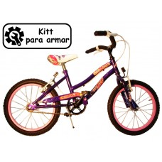 bicikitt playera r.16 dama   c/freno    *<