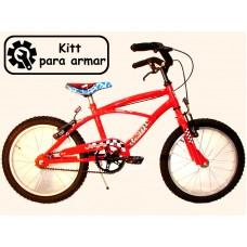 bicikitt playera r.16 hombre c/freno    *<