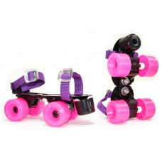 patines ext. junior chapa fucsia23-33   *<