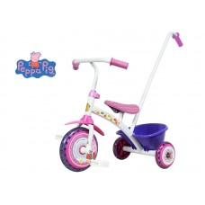 Triciclo c/manija peppa pig  301800  *<